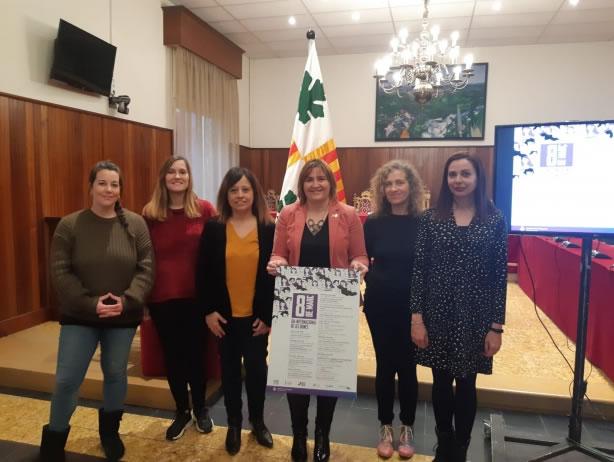 Figueres presenta les activitats en commemoració del Dia Internacional de la Dona