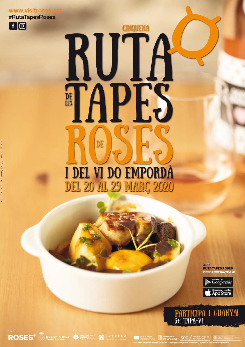 92 establiments participaran enguany a la Ruta de les Tapes de Roses i del vi DO Empordà