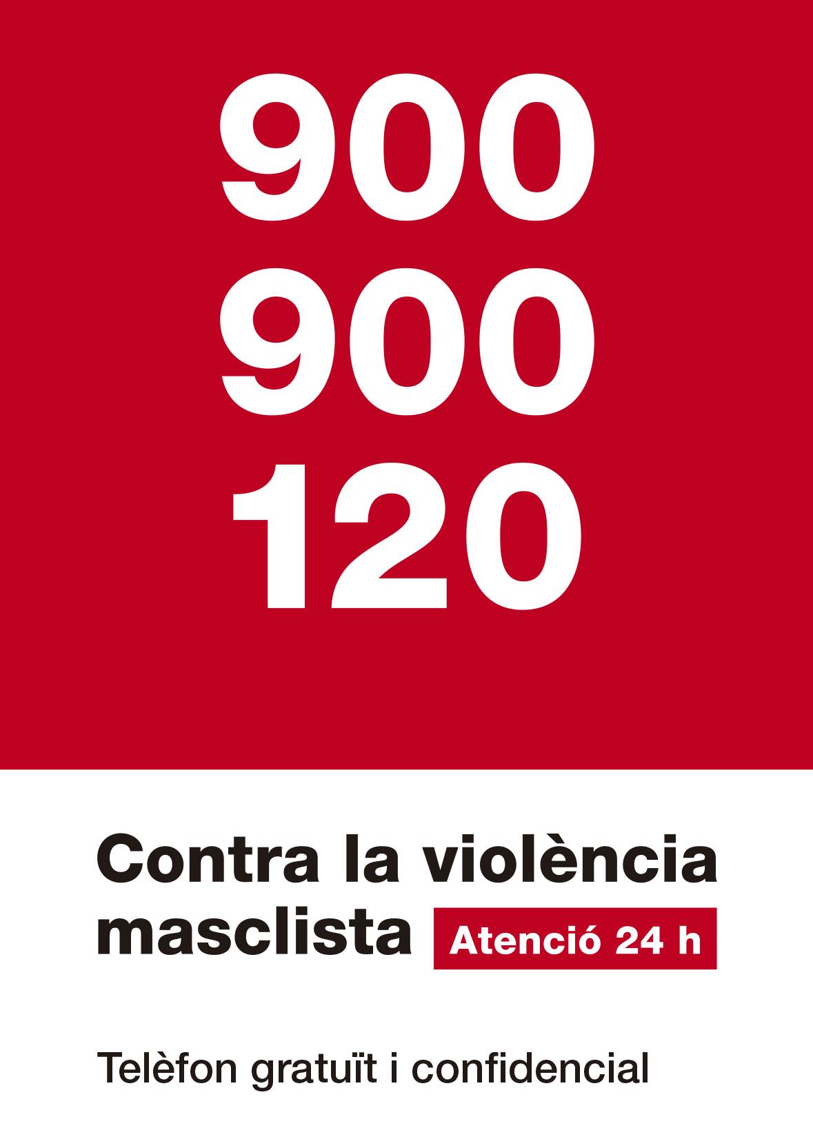 """Mesures contra la violència masclista: reforç de la línia 900, nou correu electrònic i campanya """"Establiment segur"""""""