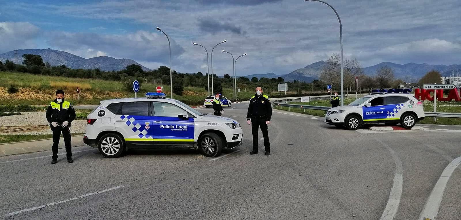 La Policia Local de Roses treballa per evitar desplaçaments a segones residències
