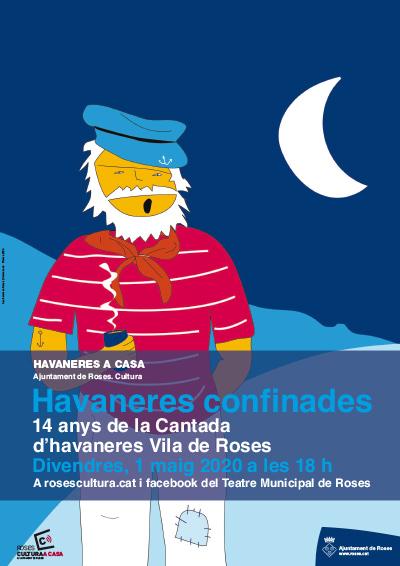 Roses celebra demà la tradicional Cantada d'Havaneres a través de les xarxes socials
