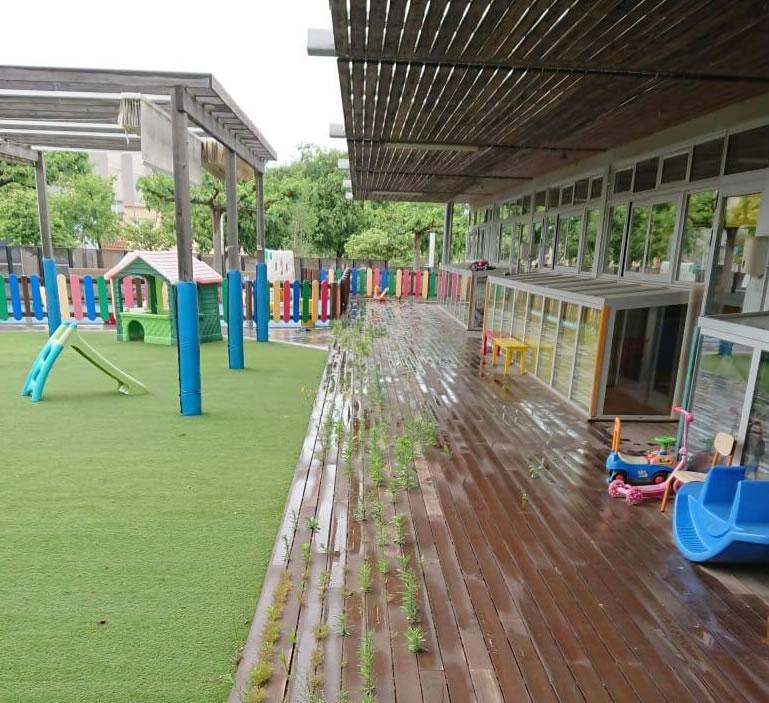 Roses inicia les tasques de manteniment i desinfecció de les escoles i llars d'infants municipals
