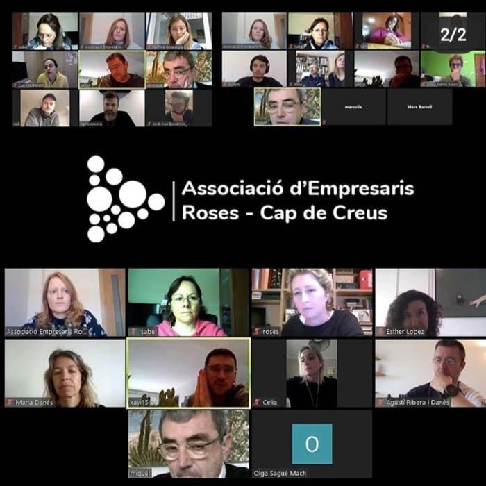 Els empresaris de Roses fixen amb l'Ajuntament un calendari amb una quinzena d'accions per al post COVID-19
