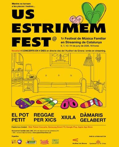 Primera edició del festival US ESTRIMEM FEST!