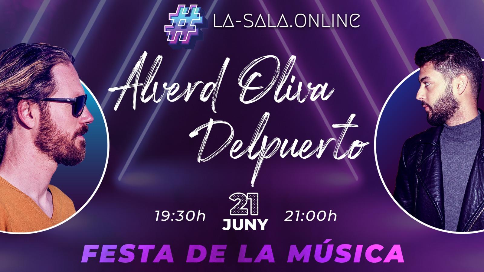 Guia de Roses oferirà en streaming els concerts d'Alverd Oliva i Delpuerto