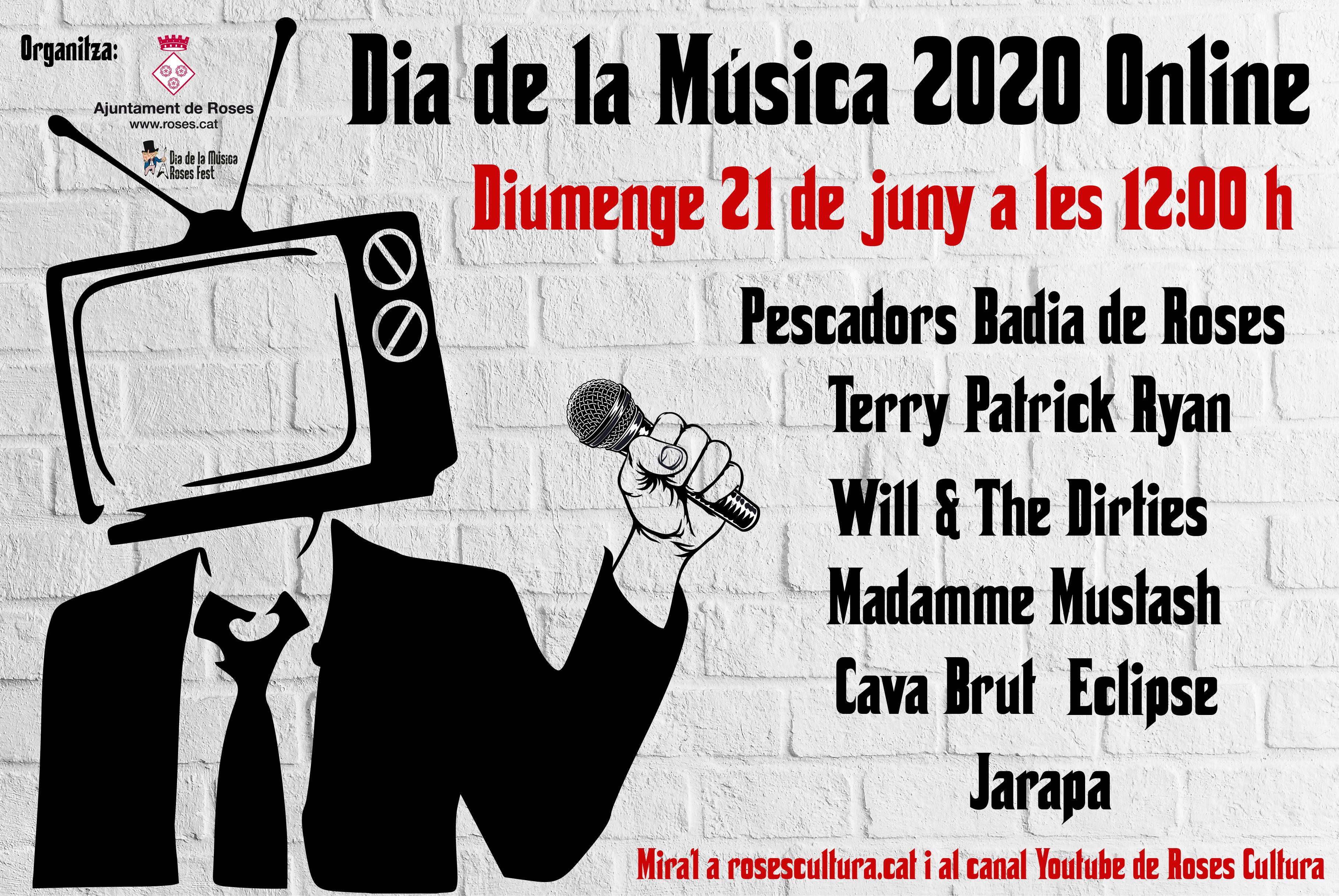 Roses celebra el Dia de la Música 2020 en format digital