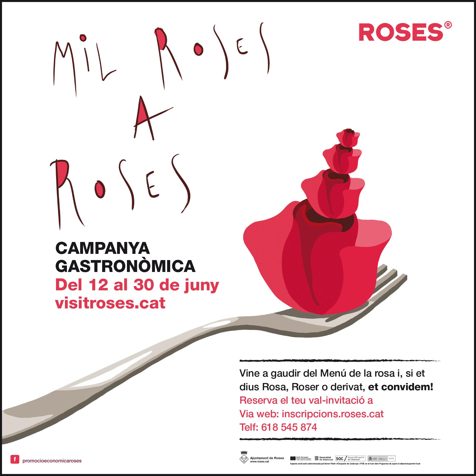 Del 12 al 30 de juny, restaurants i bars de Roses ofereixen còctels i menús florals