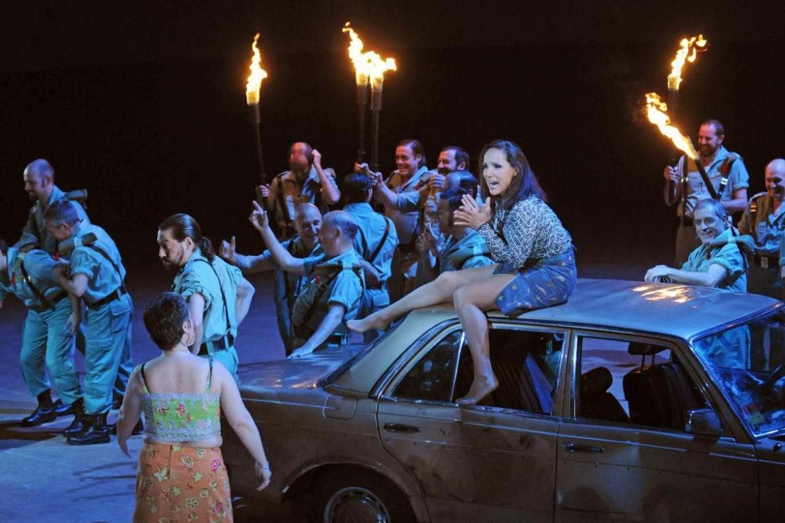 La projecció de l'òpera Carmen, primera activitat cultural a Roses post-confinament