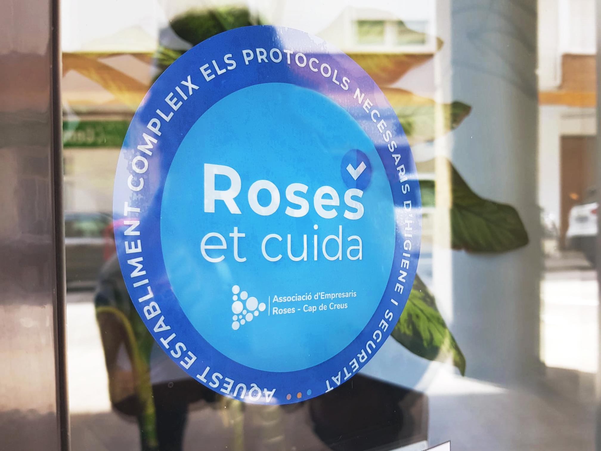 Els empresaris de Roses impulsen un Distintiu per garantir el compliment dels protocols de seguretat