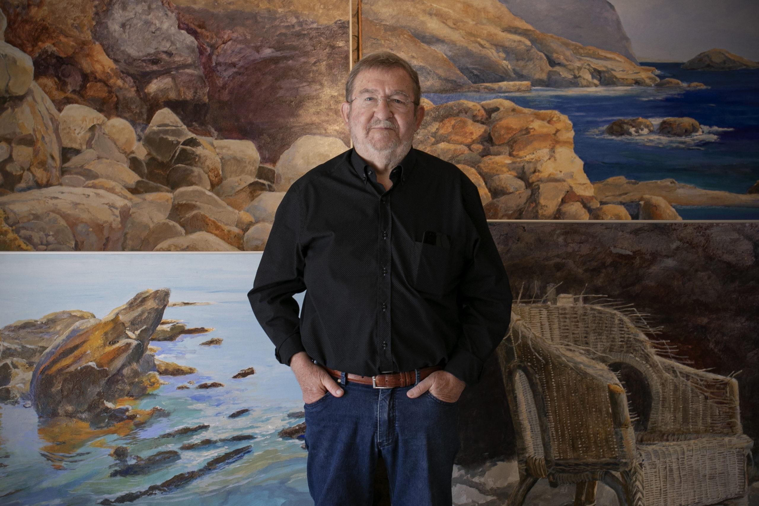 Els paisatges empordanesos de Ricard Ansón arriben a Ca l'Anita aquest estiu