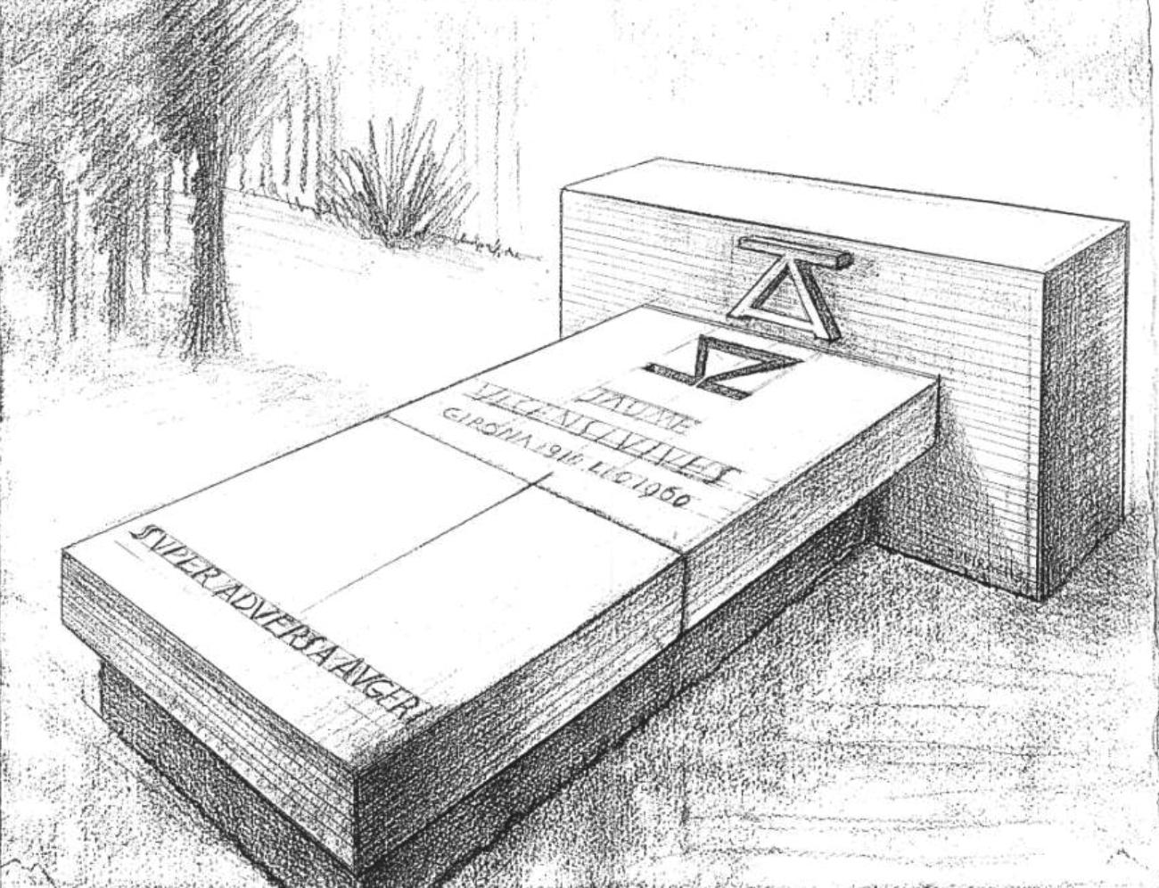La inauguració de la tomba de Jaume Vicens Vives a Roses centra el Document del Mes de l'AMR