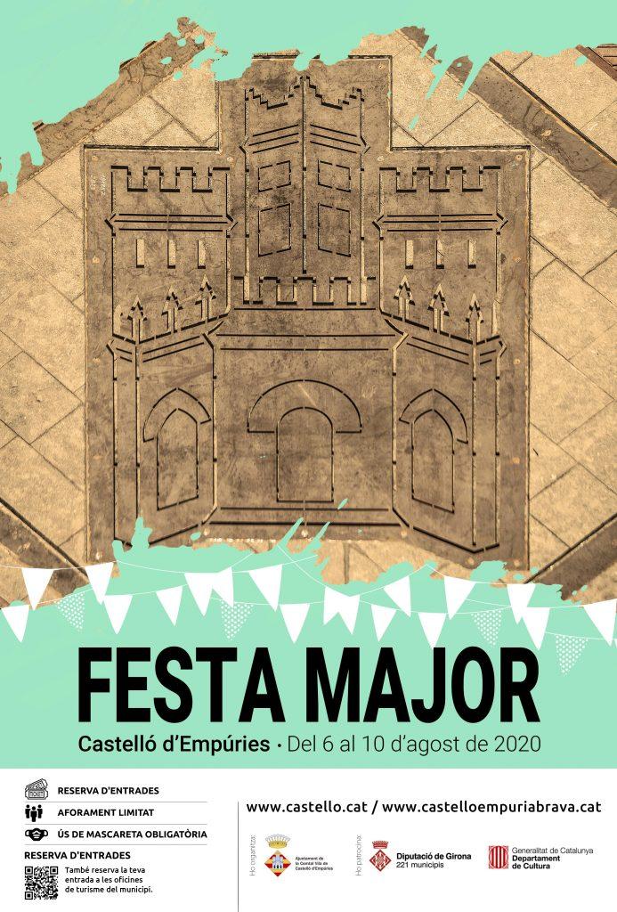 Del 6 al 10 d'agost, Festa Major de Castelló d'Empúries en format reduït