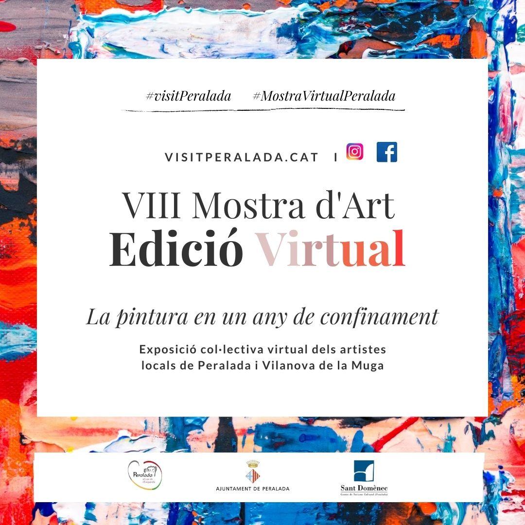La Mostra d'Art de Peralada, enguany en format virtual.