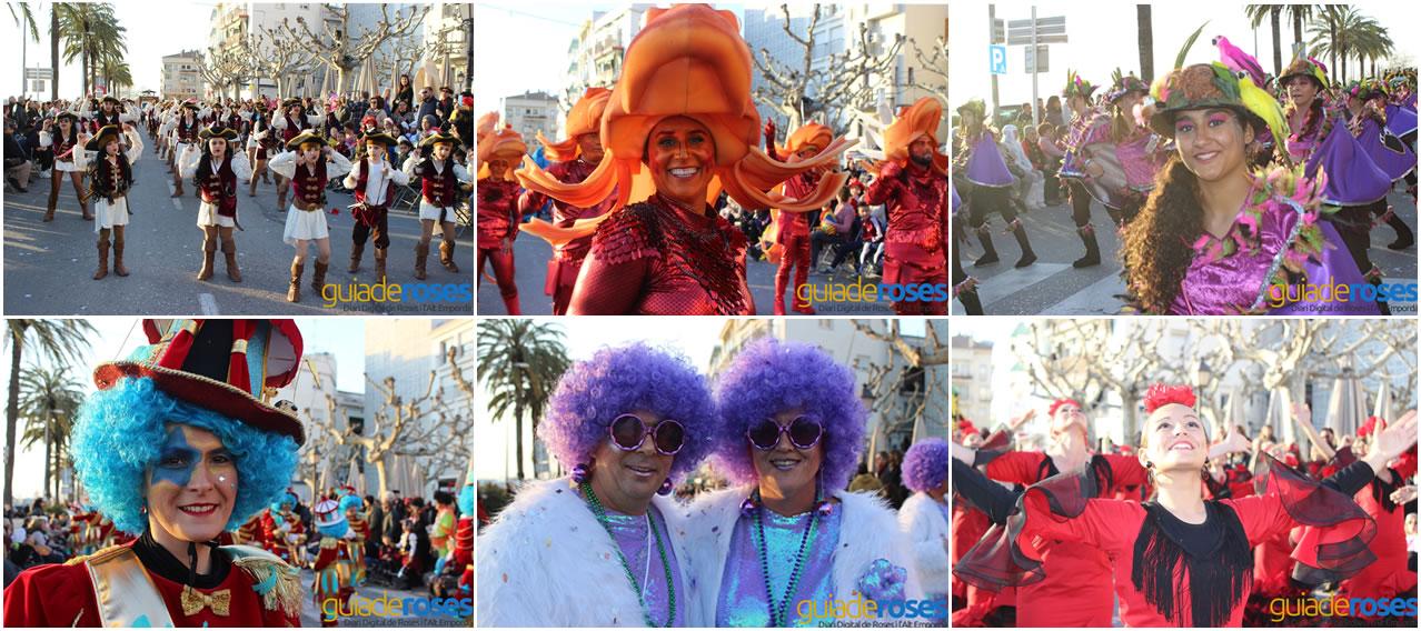 Suspès el Carnaval de Roses 2021