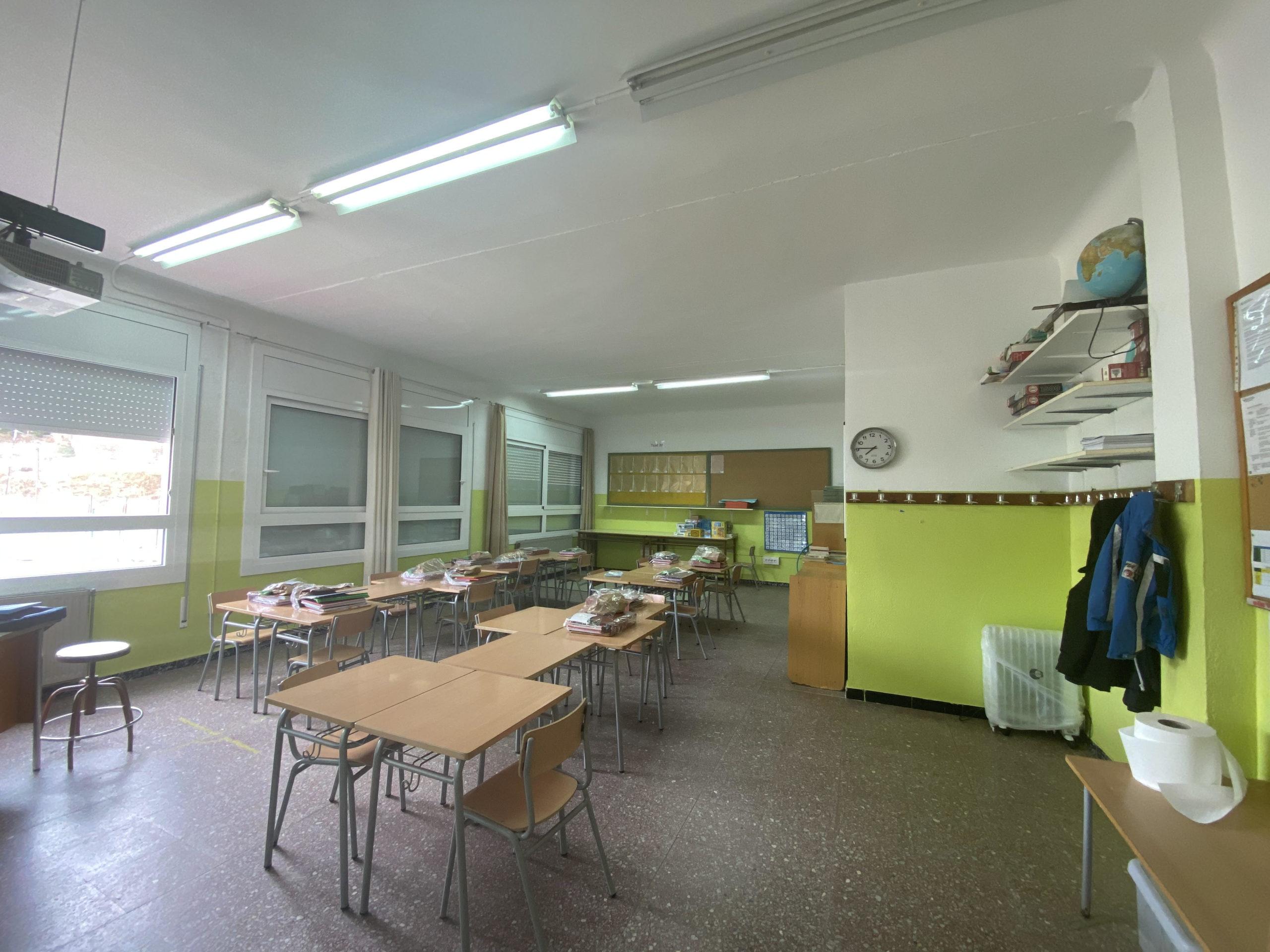 Finalitzen les obres per adaptar l'Escola Santiago Ratés de Vilajuïga a les necessitats del nou curs escolar