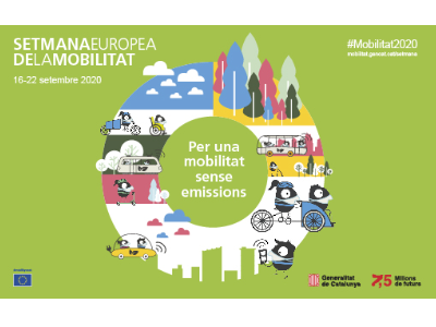 Catalunya celebra la Setmana Europea de la Mobilitat 2020 amb més de 500 activitats