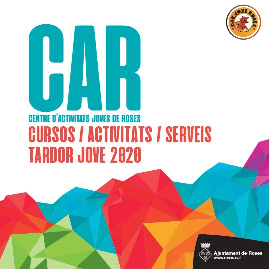 S'obren les inscripcions per als cursos, activitats i tallers del CAR Jove