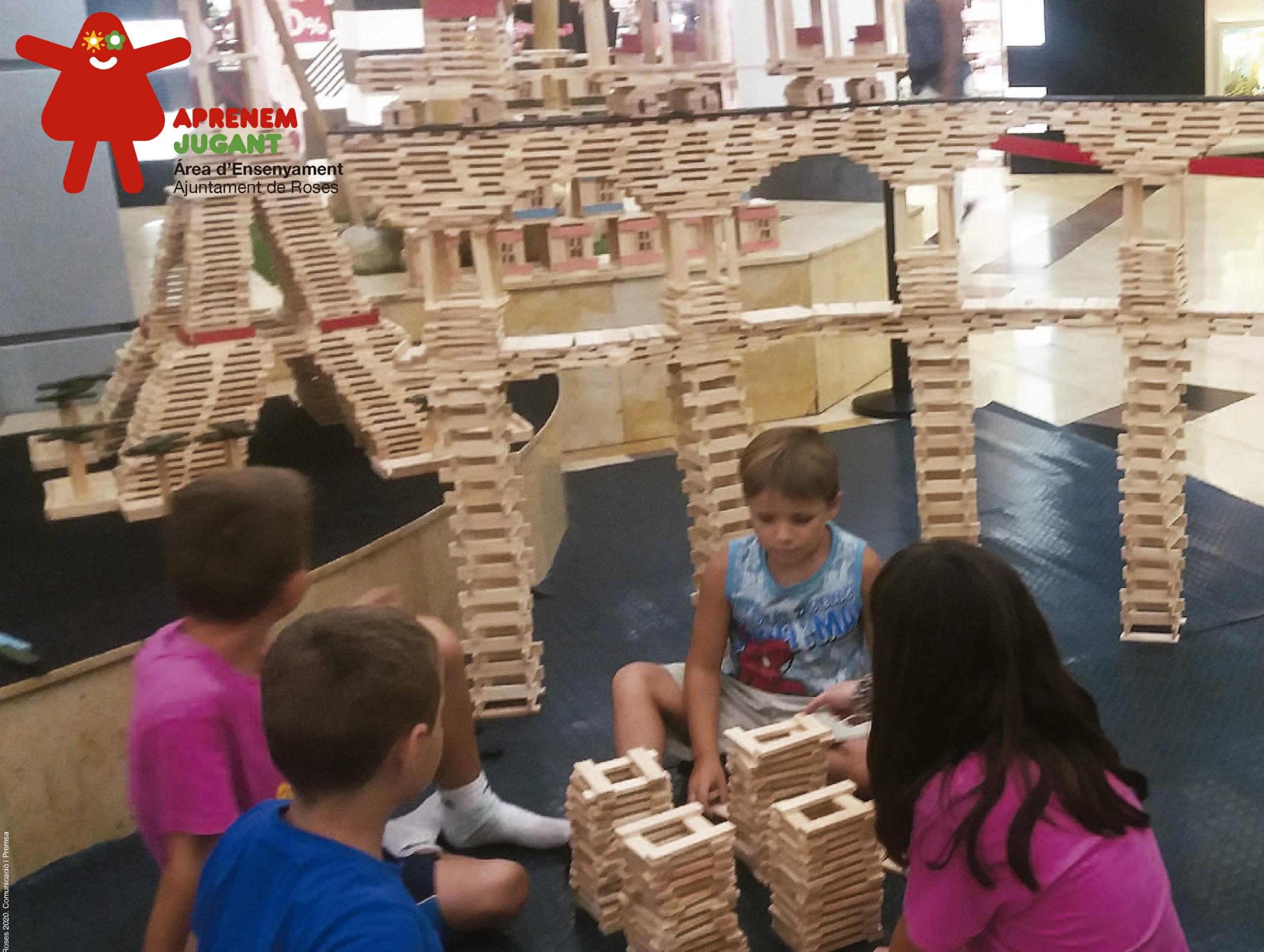 El taller Petits grans arquitectes, una nova proposta per continuar aprenent mitjançant el joc