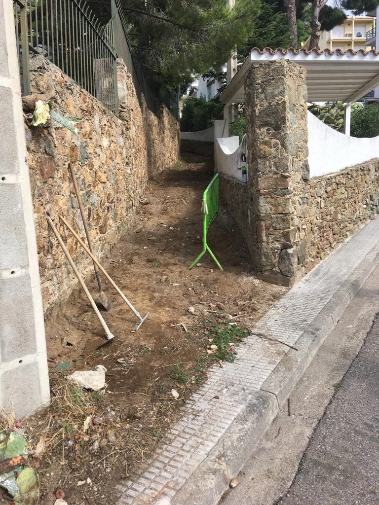 Millora de la vialitat entre els carrers del Greco i l'avinguda Santa Bàrbara