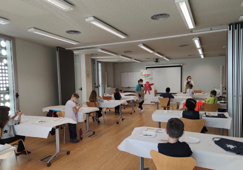 Èxit de participació en el programa Aprenem Jugant de Roses