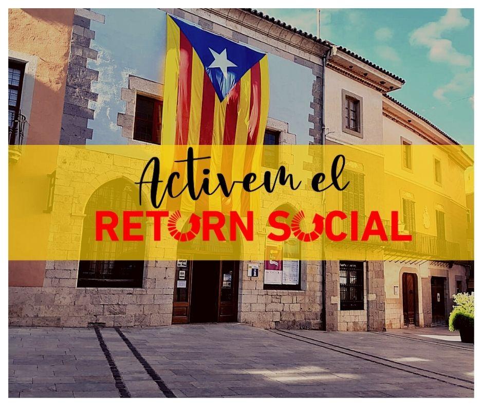 """La CUP de Castelló d'Empúries presenta la primera edició de la campanya """"Diners al Carrer"""""""