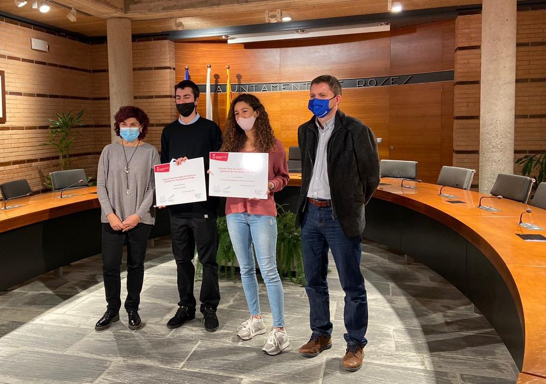 Hala Masri Alrich, del Centre Escolar Empordà, guanyadora dels Premis Treballs de Recerca de Batxillerat de l'Ajuntament de Roses
