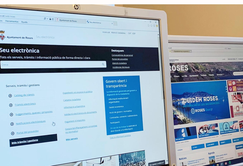L'Ajuntament rep una subvenció de la Diputació de Girona per adquirir material informàtic