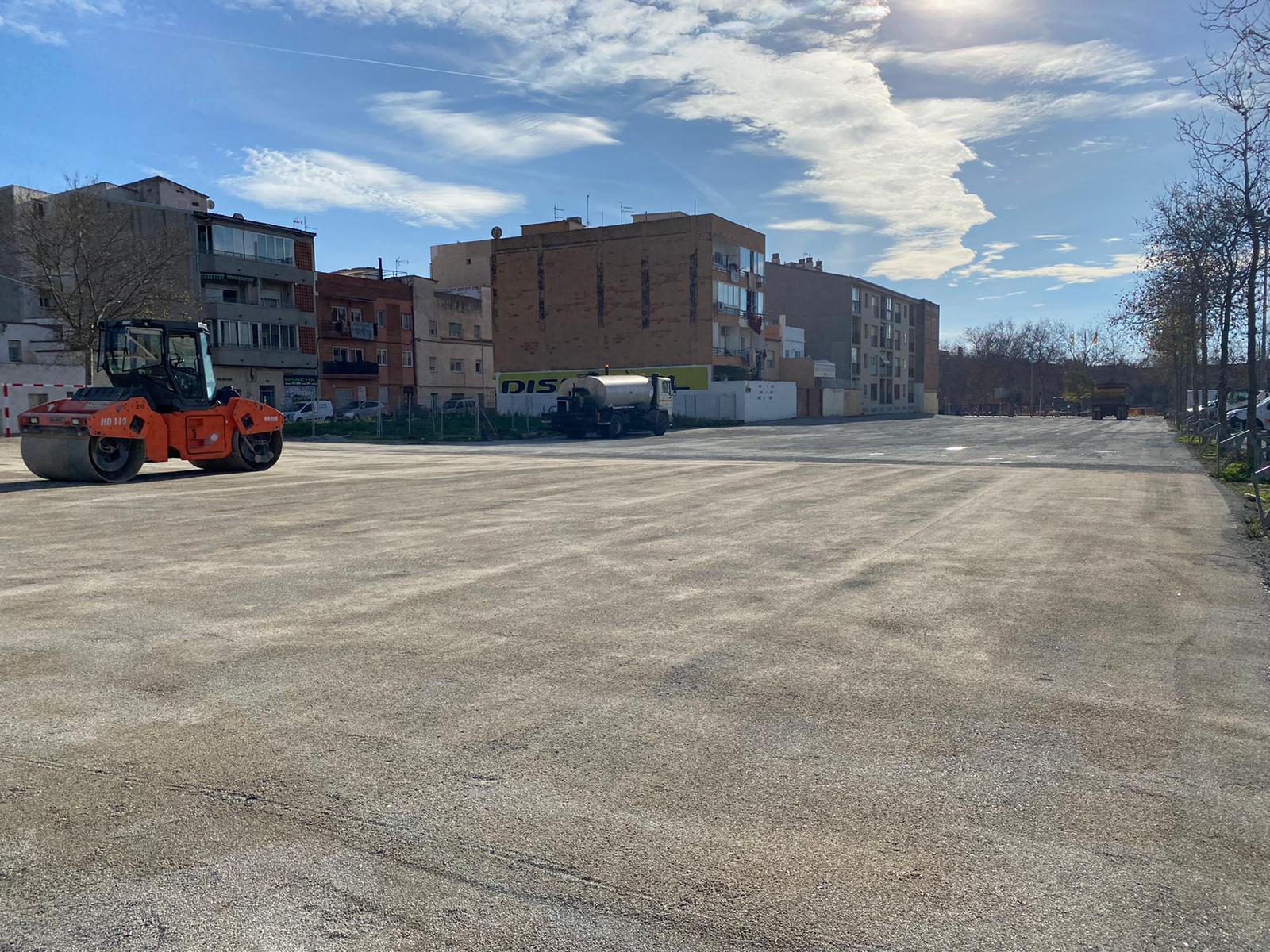 L'Ajuntament habilita un aparcament per a 131 vehicles, a tocar del mercat dels diumenges