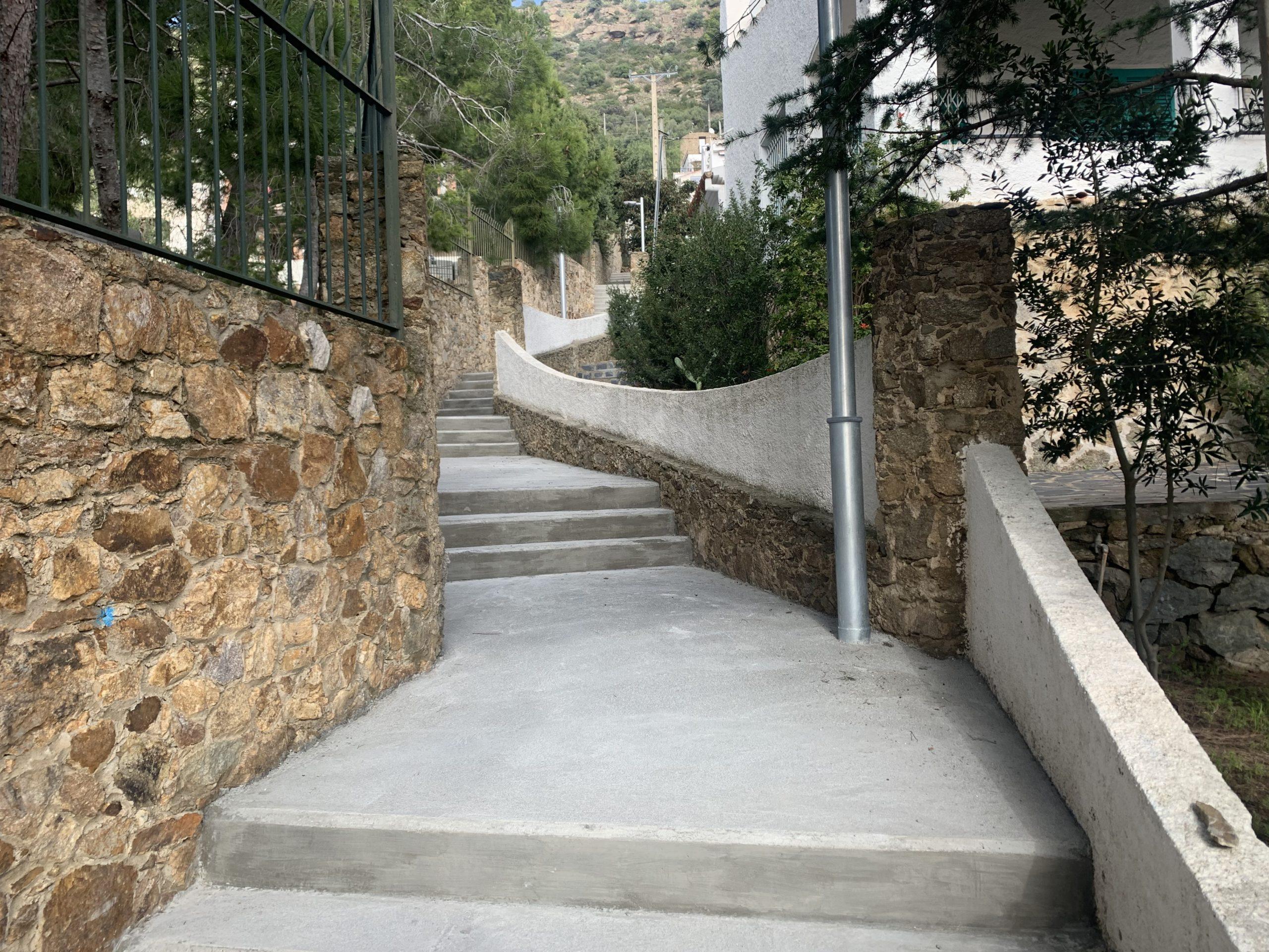 Finalitza l'arranjament entre els carrers del Greco i l'avinguda Santa Bàrbara