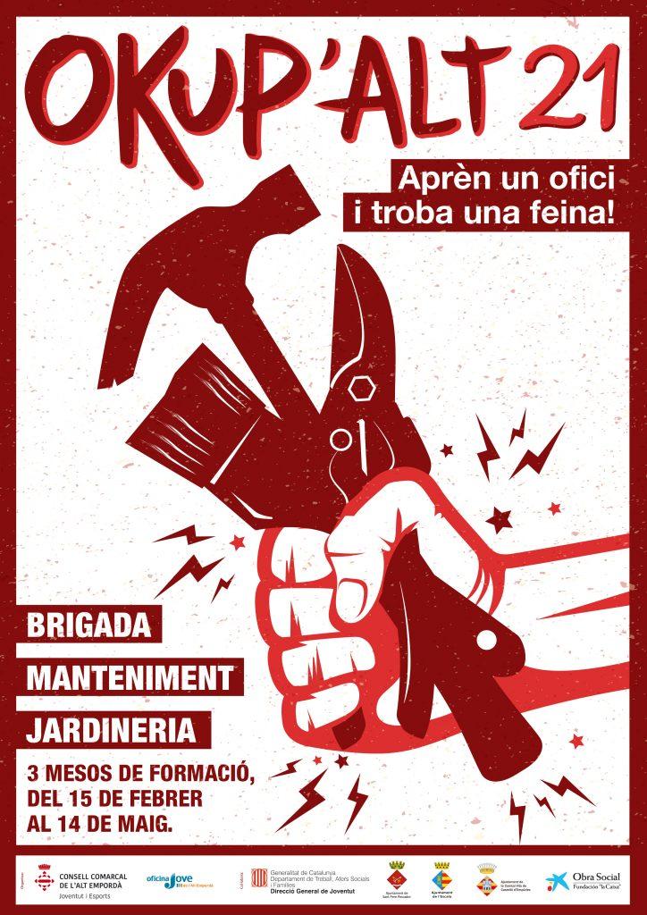 Torna l'Okup'Alt, un projecte de formació professionalitzadora per a joves de 16 a 24 anys a l'Alt Empordà