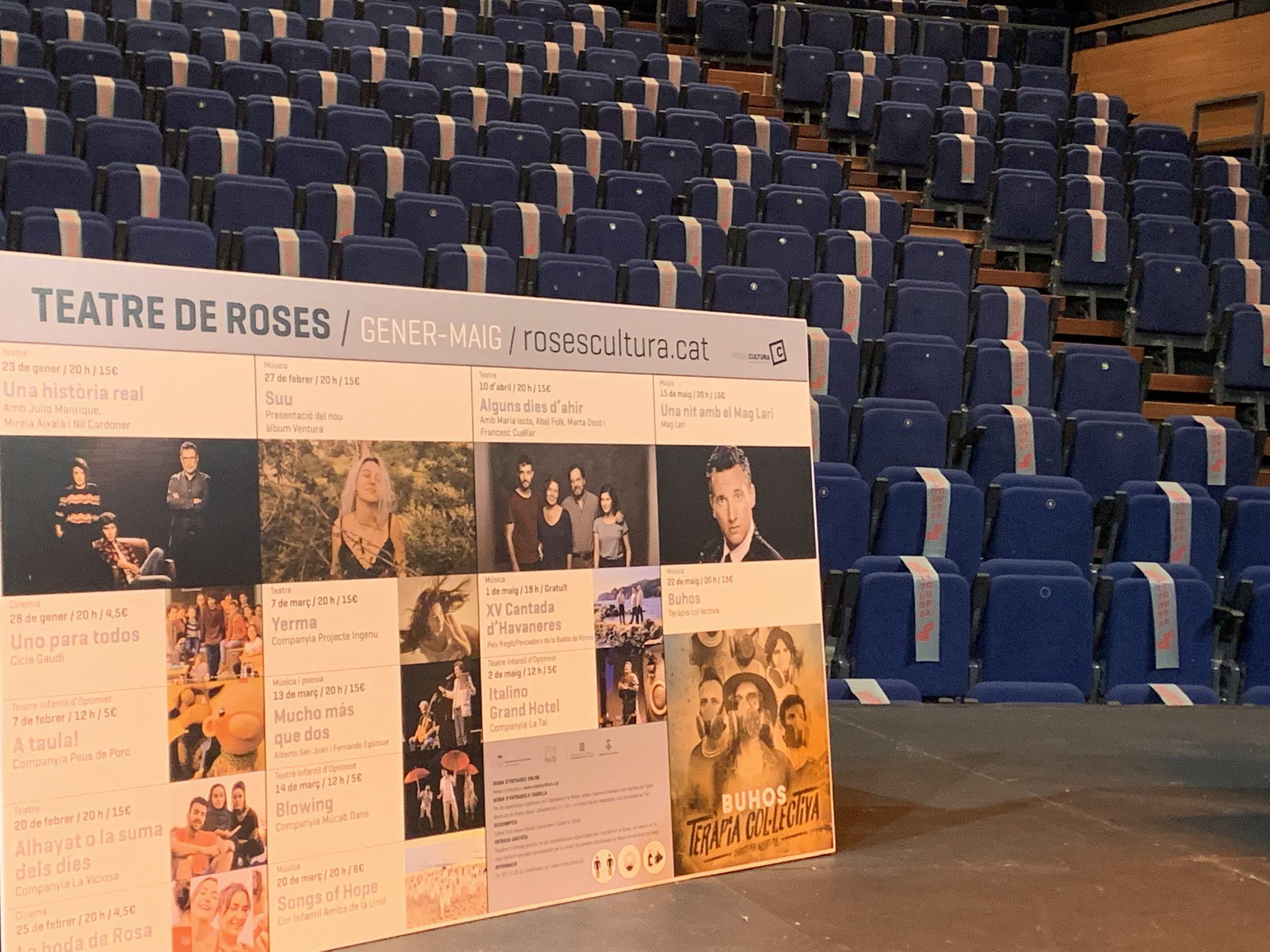 Nova temporada del Teatre Municipal de Roses