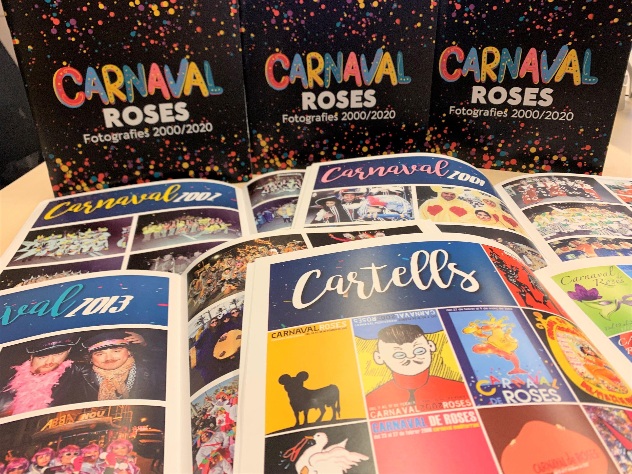Un recorregut fotogràfic pels darrers 20 carnavals de Roses