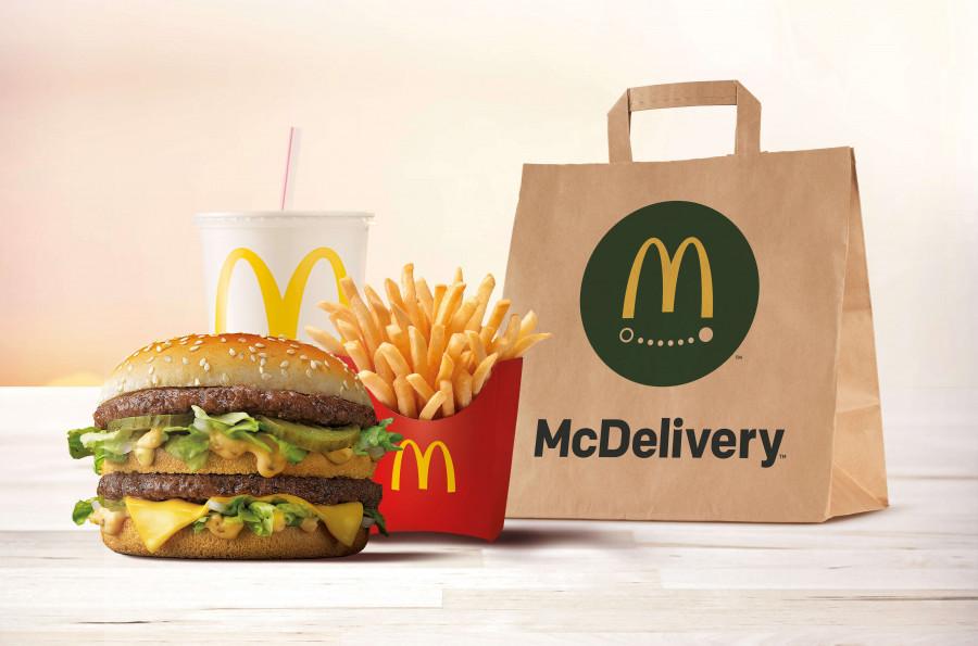 McDonald's amplia el seu servei d'entrega a domicili