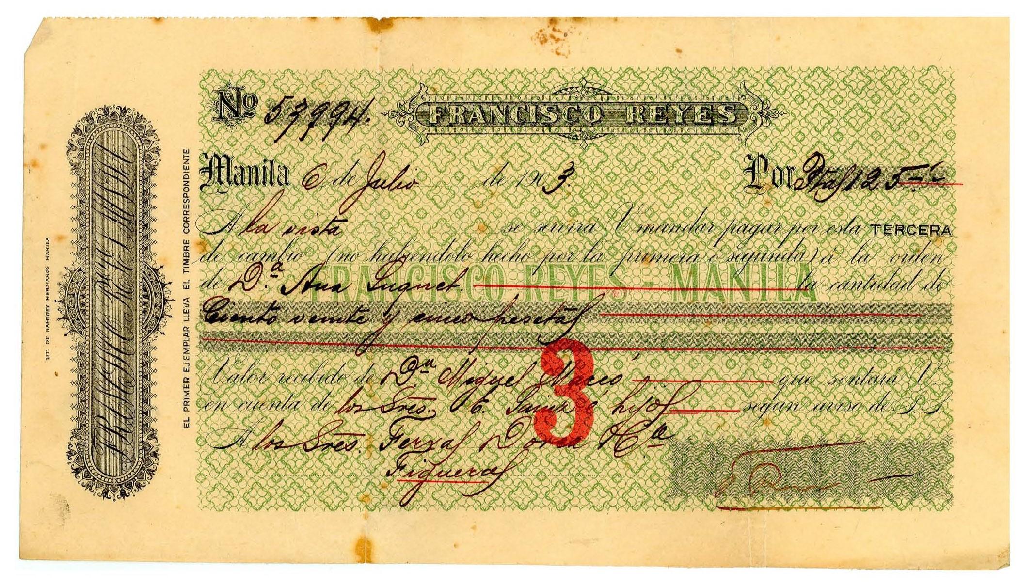 Un testimoni de l'emigració rosinca és el Document del Mes de l'Arxiu Municipal