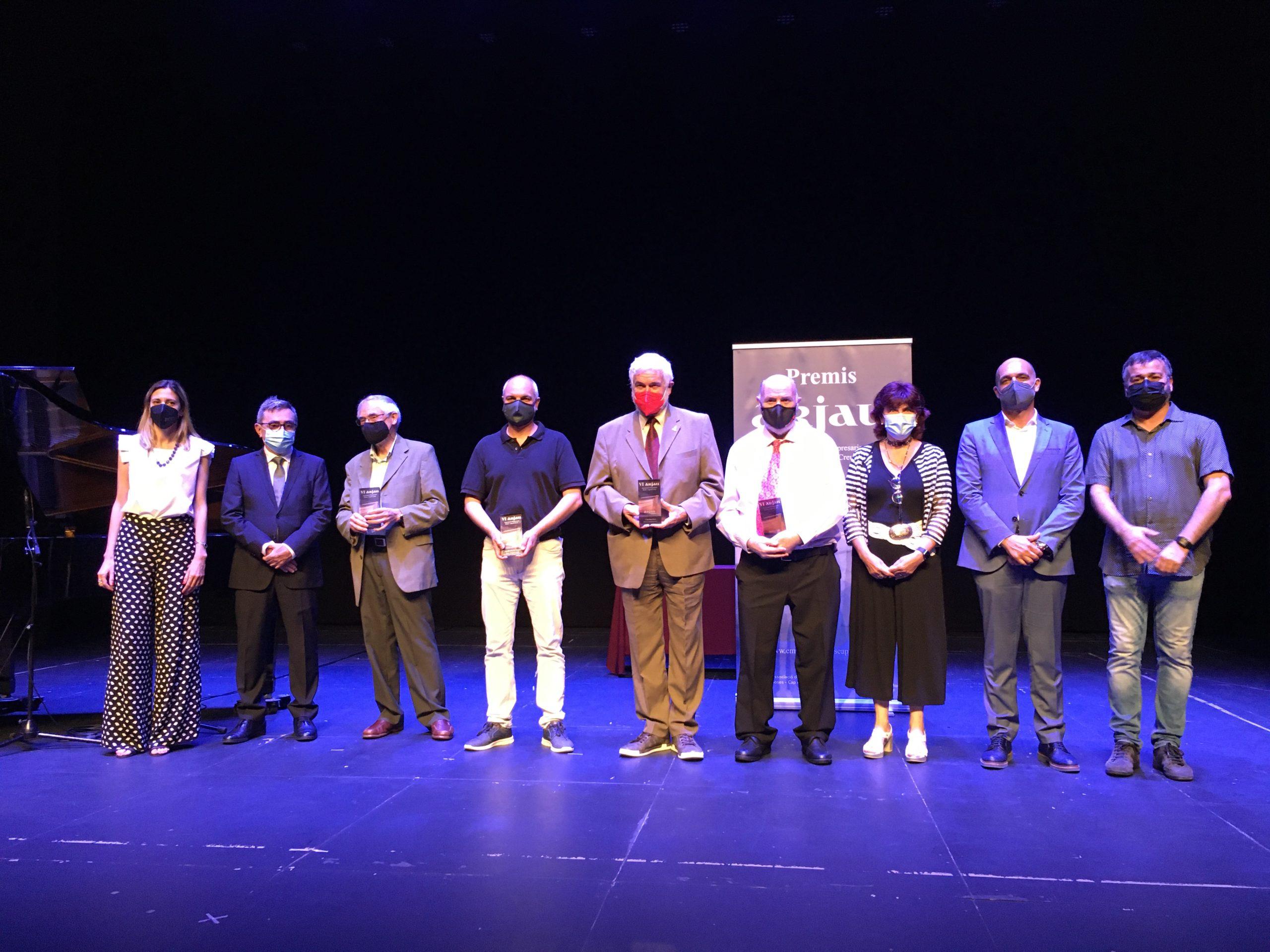 La Residència Pi i Sunyer, Càrites Roses, Creu Roja Roses-Castelló d'Empúries i Josep Maria Massot, premis Arjau 2021