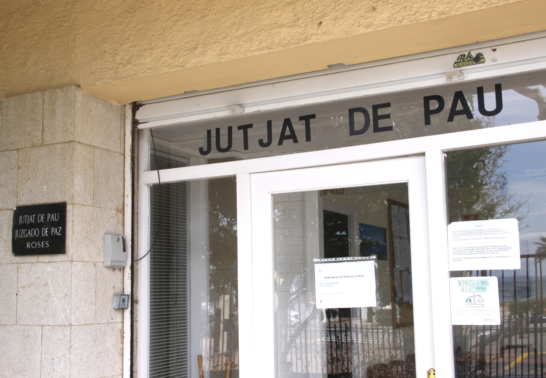 Convocatòria per a la provisió de la plaça de jutge/essa de pau a Roses