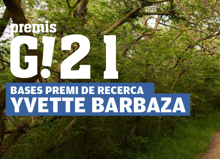 Premi Yvette Barbaza al millor projecte de recerca en l'àmbit del turisme