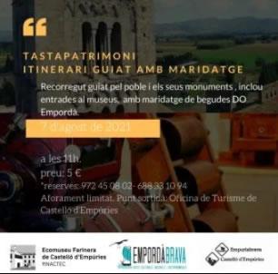 Tastapatrimoni a Castelló d'Empúries