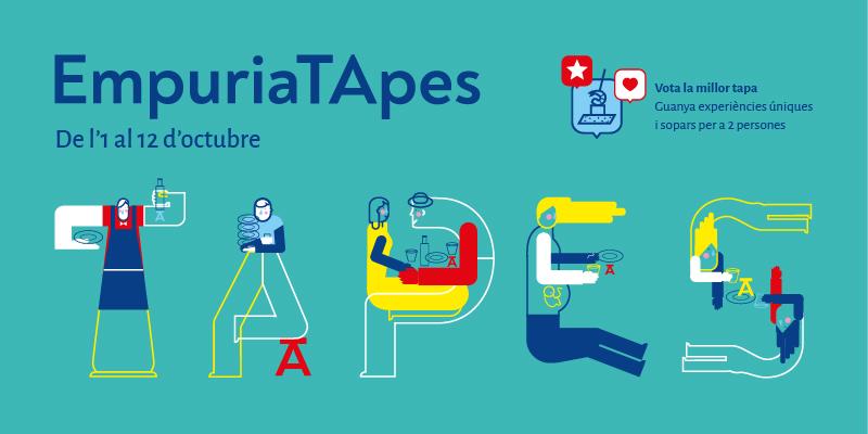 EmpuriaTApes arriba a la cinquena edició