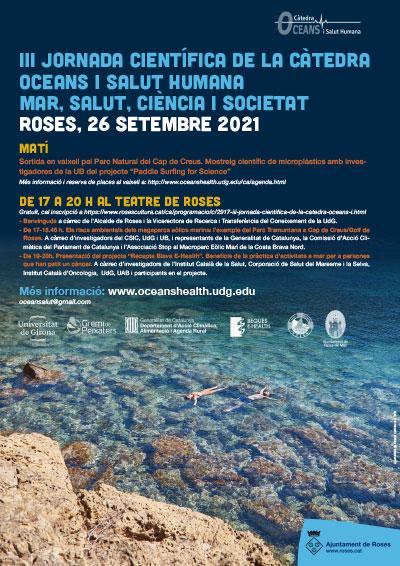 Jornada de la Càtedra Oceans i Salut Humana sobre riscos ambientals de l'eòlica marina i receptes blaves