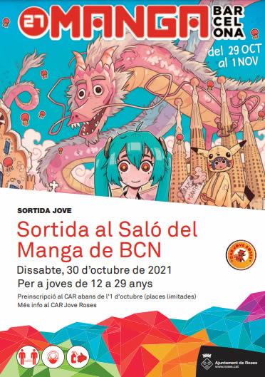 Sortida al Saló Manga de Barcelona
