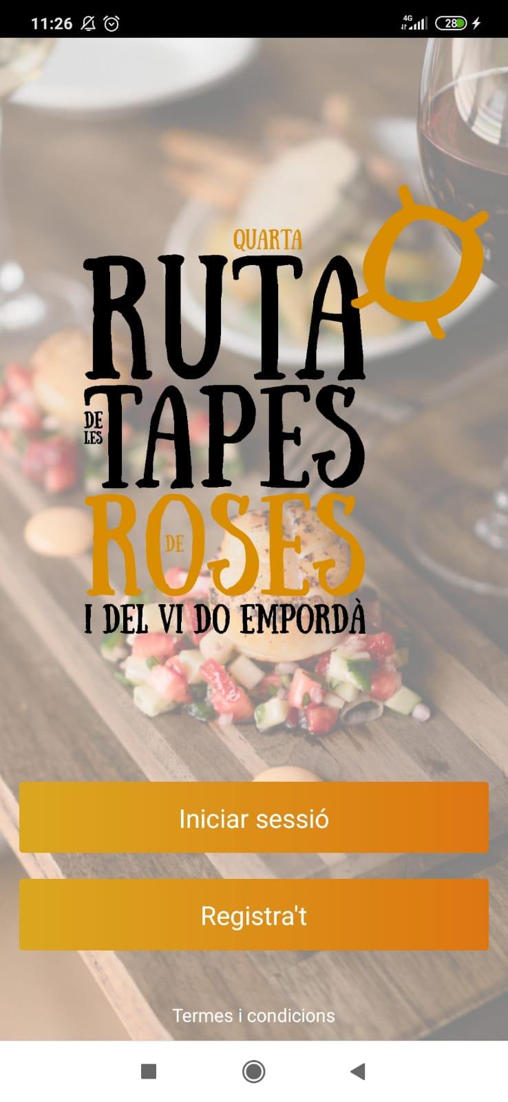 La Ruta de Tapes de Roses comptarà amb una nova App mòbil