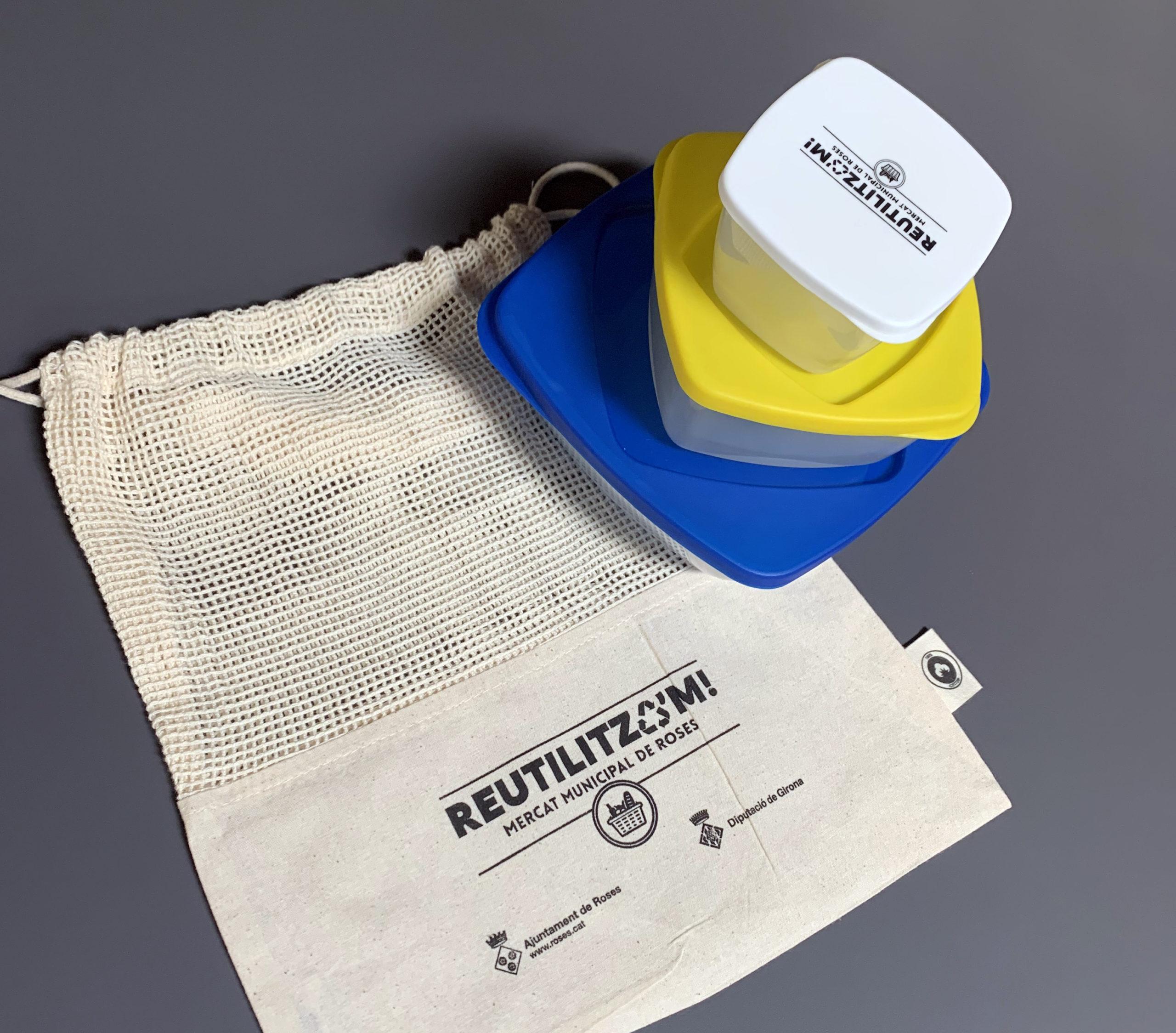 Compres més sostenibles amb la campanya Reutilitza'm i la recollida de penjadors d'un sol ús