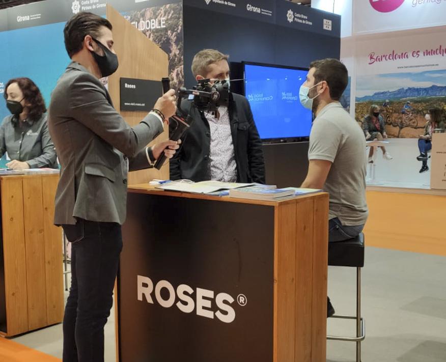 Roses reprèn la promoció turística presencial a la Fira Expovacaciones de Bilbao